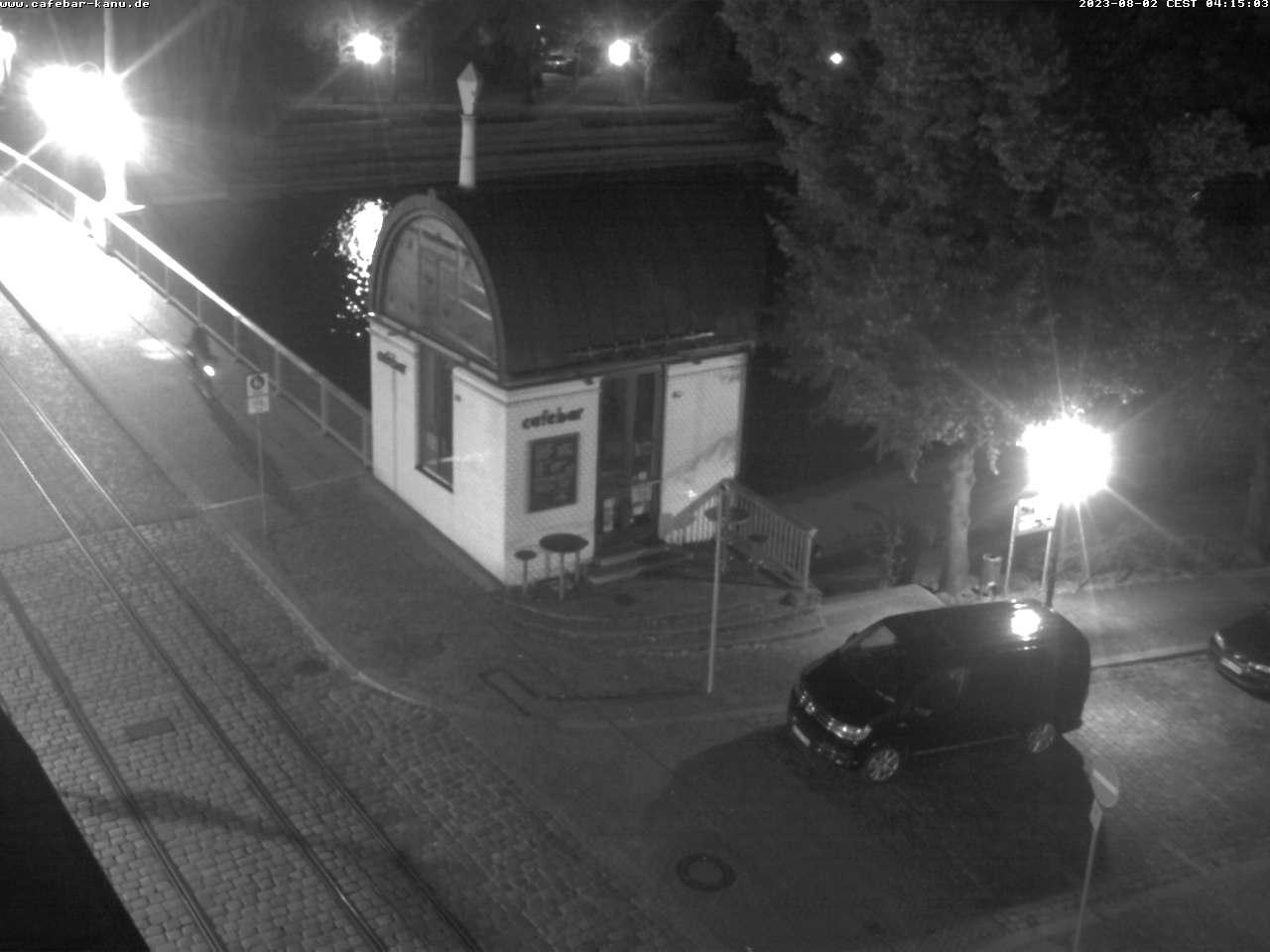 WebcamCafébar mit Blick zur Havel